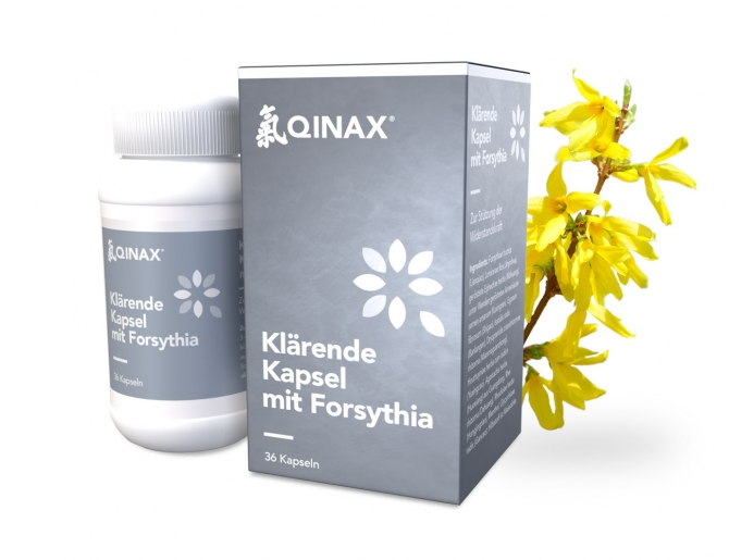 Clearing capsules with Forsythia